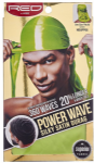 Power Wave 360 Silky Satin Durag Green